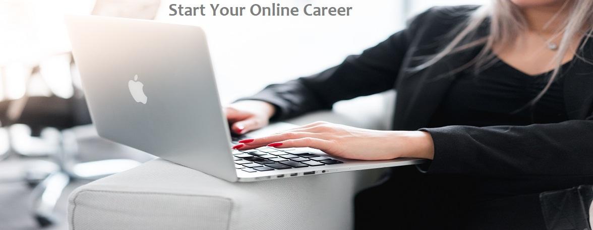 how to start online career