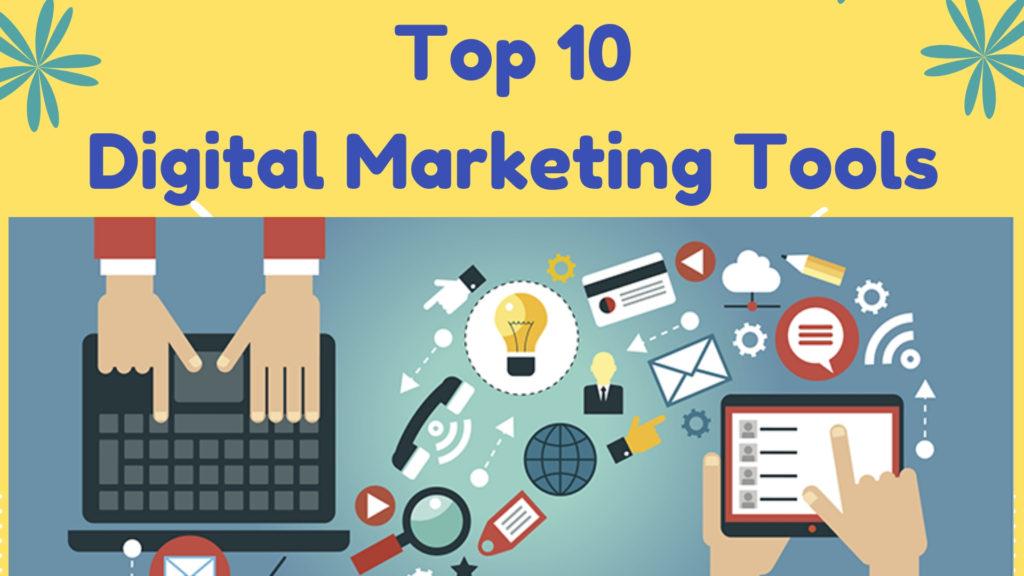 Cele mai populare 20 de instrumente pentru marketing digital în 2021